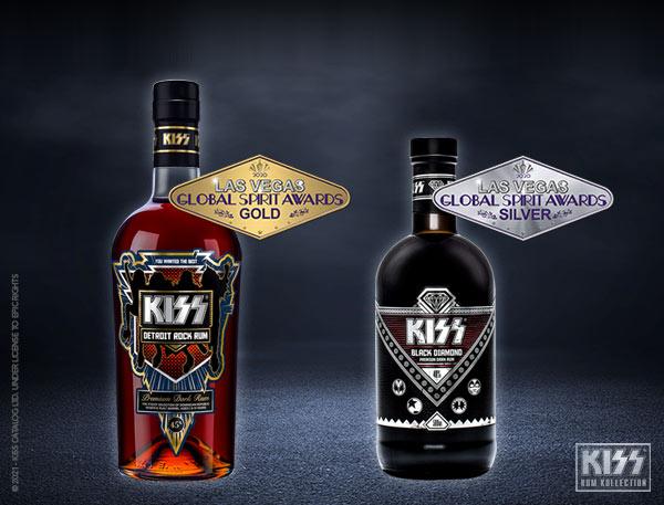 Kiss Rum Las Vegas Global Spirits Awards