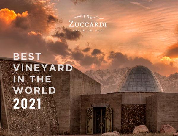 Zuccardi Valle de Uco on voittanut kultaa The World's Best Vineyard-kilpailussa